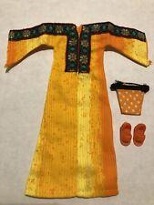 New VINTAGE Kenner 1972 Original BLYTHE Doll Outfit GOLDEN GODDESS Kaftan Dress