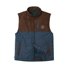 HIPPY TREE Men's OTTAWA Vest - BLU - Large - NWT