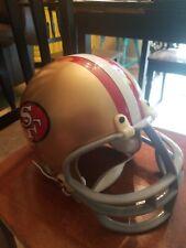 Vintage San Francisco 49ers Replica Full Size Medium Riddell Football Helmet