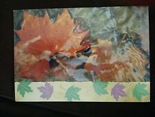 Fall Leaf - Business Thank Note Cards - Set of 25