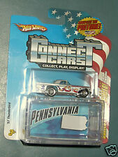 Hot Wheels Connect Cars Pennsylvania '57 Thunderbird