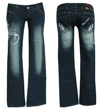 "Tribal ""cracy Queen"" jeans w26-gr.32 ""cracy Queen"" Jeans Hose tribal Denim"