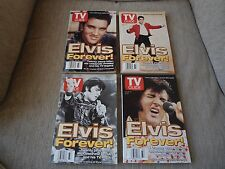 Elvis Presley TV Guide, August 16 - 22, 1997: Elvis Forever! (Set of 4)