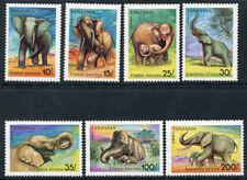 Tanzania 792-798, MNH, Wild Animals Elephant. x1855