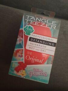 Tangle Teezer Disney Princess Ariel, Wet & Dry Detangling Hairbrush, brand new
