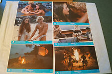 Lobby Cards - Collection of 6 - The Blue Lagoon - Brooke Shields, C.Atkins