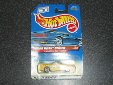 Old Hotwheels Nestle Butterfinger Mustang Converible Car Suger Rush Series 1997