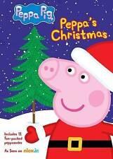 Peppa Pig: Peppas Christmas (DVD, 2014) - NEW!!