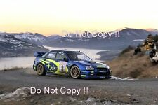 Tommi Makinen Subaru Impreza WRC2003 Monte Carlo Rally 2003 Photograph 1
