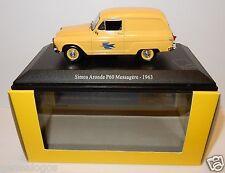 UH UNIVERSAL HOBBIES SIMCA ARONDE P60 MESSAGERE 1963 POSTES POSTE PTT 1/43 LUXE
