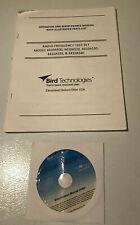 BIRD TECHNOLOGIES Operation & Maintenance Manual & Index Compact Disc CD