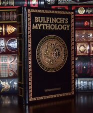 Bulfinch's Mythology by Thomas Bulfinch New Leather Bound Collectible Hardcover