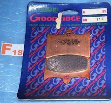 2 plaquettes de frein Goodridge Aprilia AF1 125 EUROPA FUTURA RS 125 TUONO 125