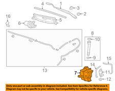 Chevrolet GM OEM Sonic Wiper Washer-Windshield Fluid-Reservoir Tank 95229337