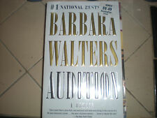 Barbara Walters Audition-A Memoir-paperback-Brand new-1st edition/Barbara Walter