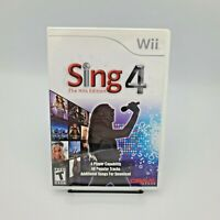Sing 4 The Hits Edition for Nintendo Wii (no microphone)