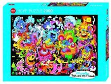 Heye Puzzles - 2000 Piece Jigsaw Puzzle - New Psychedoodlic HY29767