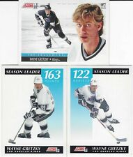 1991-92 Score Hockey - WAYNE GRETZKY - 3 Cards Pack - Mint Condition