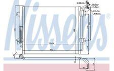 NISSENS Condensador, aire acondicionado VOLKSWAGEN SEAT ALHAMBRA AUDI Q3 940256