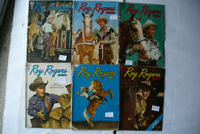 Roy Rogers comic books Golden age lot 6 issues good very good