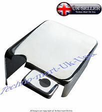 NEW ROYAL ENFIELD CLASSIC 14Amp BATTERY CARRIER COVER BOX CHROME ONLY COVER @ UK