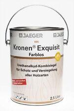 Jaeger 695 Kronen Exquisit tuffmatt 2,5l Holzsiegel Klarlack matt