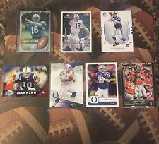 Peyton Manning 7 Card Lot (1 Rookie)