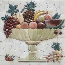 "Mosaic Kitchen Backsplash- Pietre Frutta Backsplash Mosaic Art 24"" x 24"""