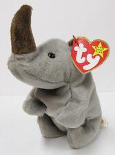 """Ty Beanie Baby - """"Spike"""" the Rhinoceros - Brand New w/Mint Tags"""