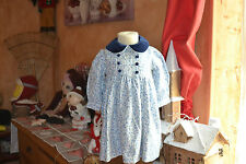 robe cyrillus 6 mois petites fleurs adorable etat parfait style liberty