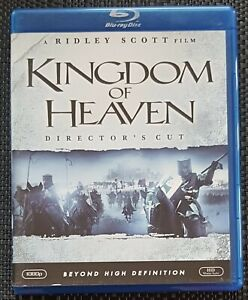 KINGDOM OF HEAVEN.DIRECTORS CUT. ORLANDO BLOOM. REGION A BLU-RAY.