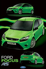 FORD FOCUS RS (2009-10 LE) POSTER - Autophile Car Automobile Wall Poster