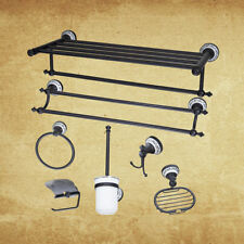 Bathroom Wall Mounted Towel Rack/Roll Paper Holder/Hook Up/Soap Dish Accessories