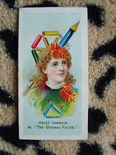 Cigarette Card : W Duke & Sons (USA) : Fancy Ball Costumes (1887):GloriousFourth