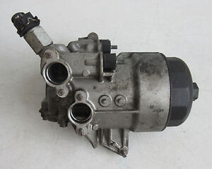 Genuine Used BMW Oil Filter / Oil Cooler for E60 E61 E63 E64 (M5 & M6) - 7836449