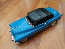 1/24 WELLY CLASSIC - 1953 BUICK SKYLARK BLUE/BLACK DIECAST MODEL CAR
