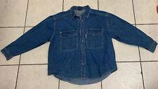 Karl Kani Jeans Denim Jacket  100%cotton Size 2X  Pre Owned