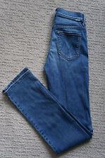 NEW Mother Denim High Waisted Lightweight Rascal Jeans Famous Heroine 25 S