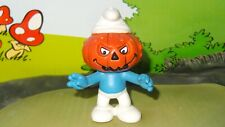 Smurfs Pumpkinhead Smurf Pumpkin Monster 20548 Vintage Display Germany Figure