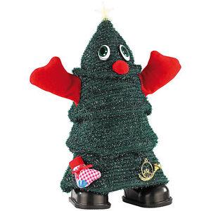 """infactory Singender, laufender Weihnachtsbaum """"Rocking Xmas Tree"""", 26 cm"""