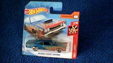 Hot Wheels - UK Card - #206 '69 Dodge Coronet Superbee - Metallic Blue