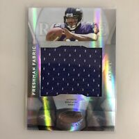 Ray Rice Rookie RC 2008 Leaf Certified Materials Freshman Fabric /599 #215