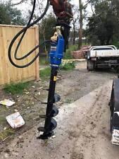 Excavator Auger Package - Augertorque X2000 + Hitch +300mm Auger suit 1.5-2.5T