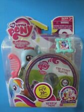 My Little Pony Friendship is Magic Pony Wedding Rainbow Dash Set with DVD , New!