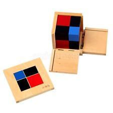 Montessori Mathematics Maths Sensorial Materials - Algebraic Binomial Cube