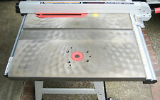 "Cast Iron 10"" x 27"" Router Table Extension Wing for Table Saw, Sears Craftsman"