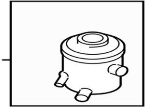 571501G000 Kia Reservoir assypower steering 571501G000, New Genuine OEM Part