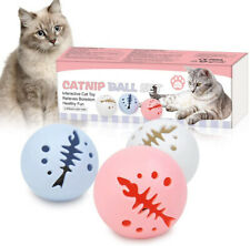 Small Cat Toy Interactive Self Rotating Rolling Motion Ball Sound Kitten Play