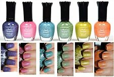 KLEANCOLOR HOLO Collection Nail Polish 6 Pack Full Size Nail Lacquer BRAND NEW