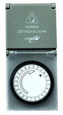 HEITECH Mechanische Zeitschaltuhr Aussen IP44 Tages-Zeitschaltuhr